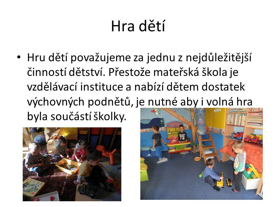 Hra dětí