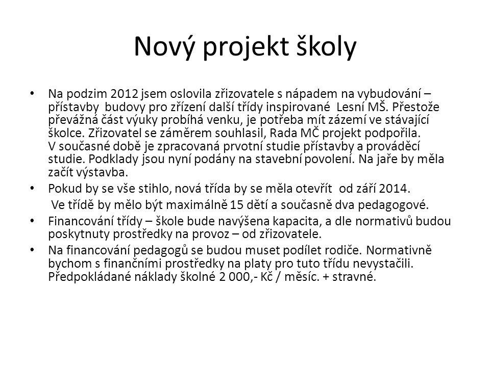 Nový projekt školy