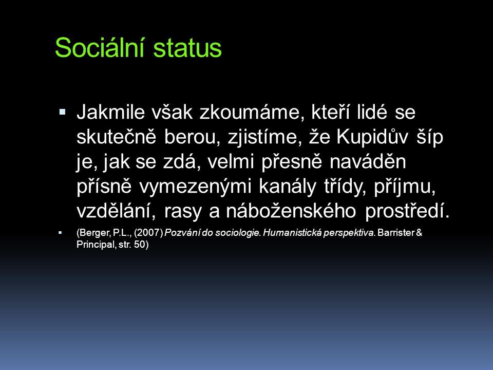 Sociální status