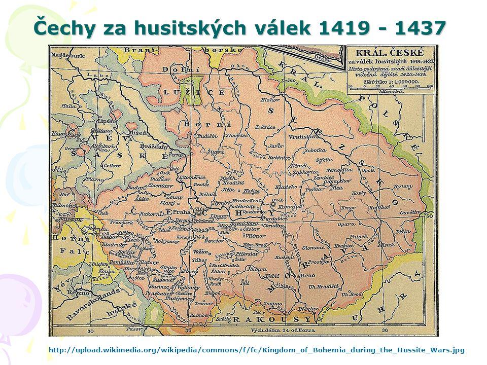 Čechy za husitských válek 1419 - 1437