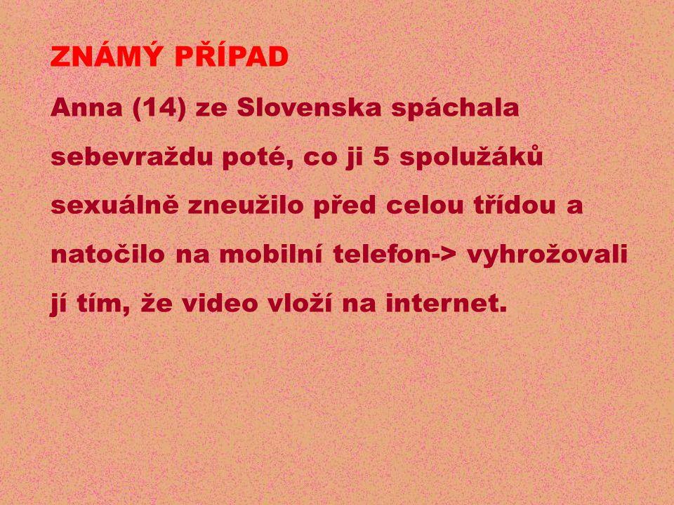 ZNÁMÝ PŘÍPAD Anna (14) ze Slovenska spáchala