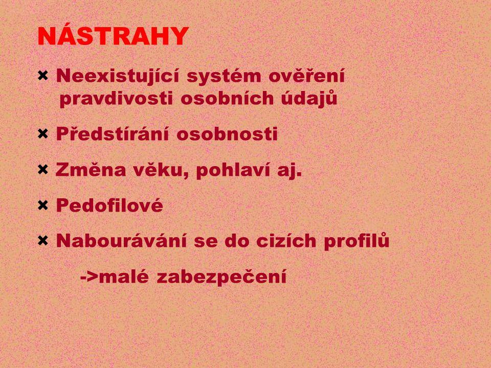 NÁSTRAHY × Neexistující systém ověření pravdivosti osobních údajů