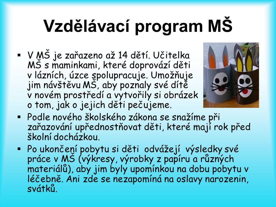 Vzdělávací program MŠ