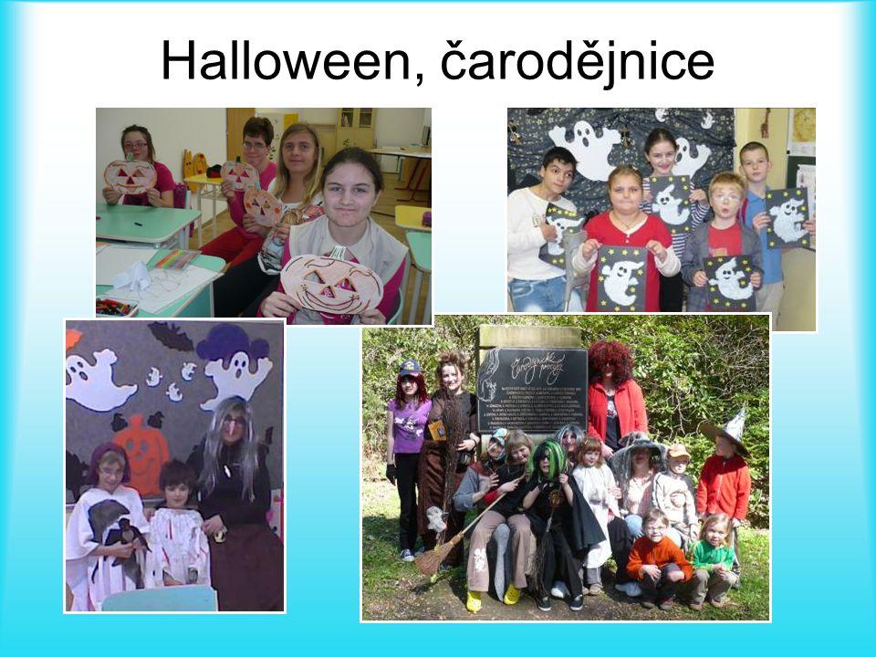 Halloween, čarodějnice