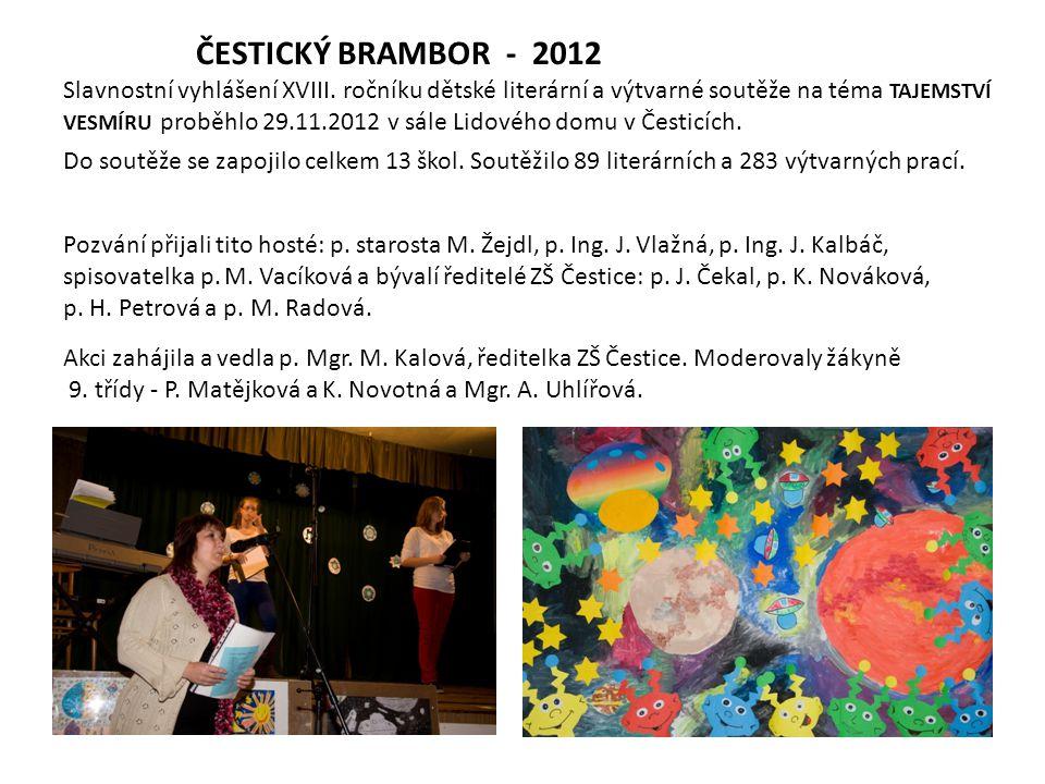 ČESTICKÝ BRAMBOR - 2012