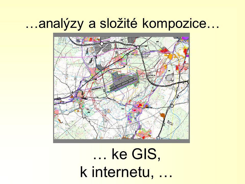 …analýzy a složité kompozice…