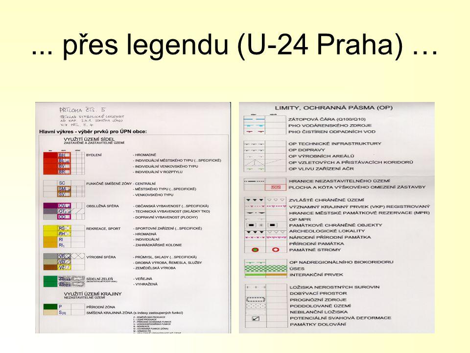 ... přes legendu (U-24 Praha) …
