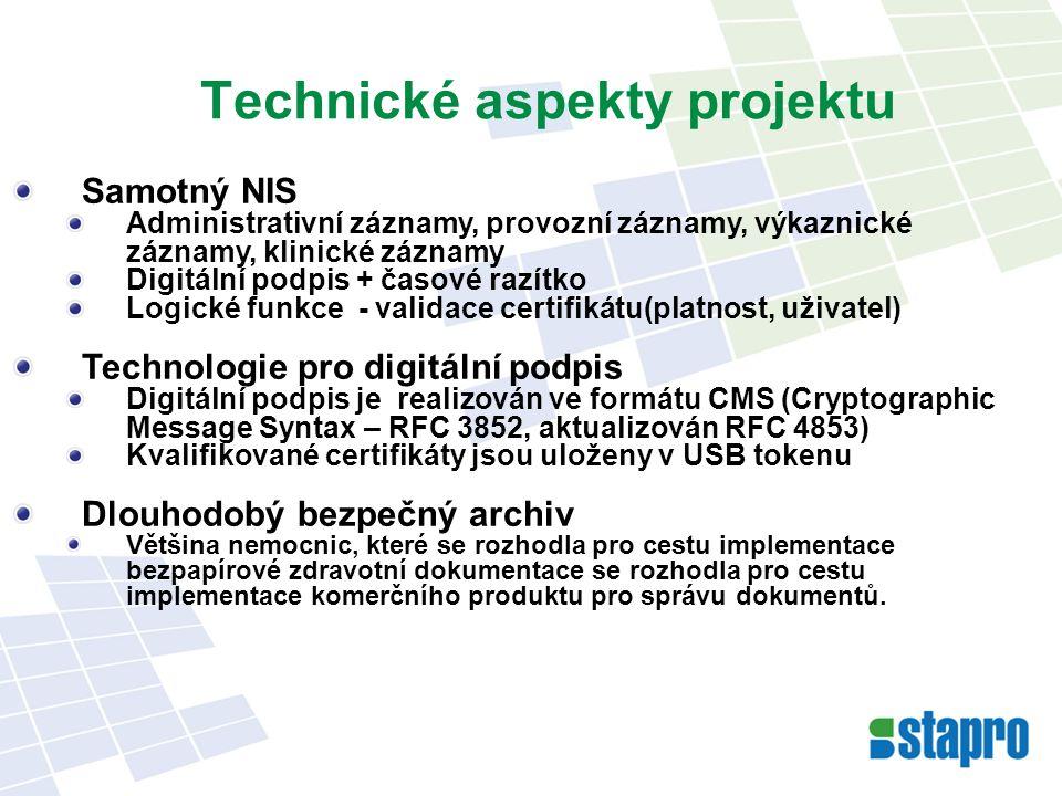 Technické aspekty projektu