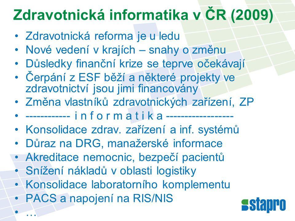 Zdravotnická informatika v ČR (2009)