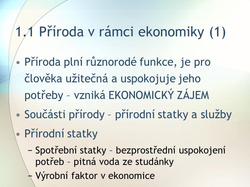 1.1 Příroda v rámci ekonomiky (1)