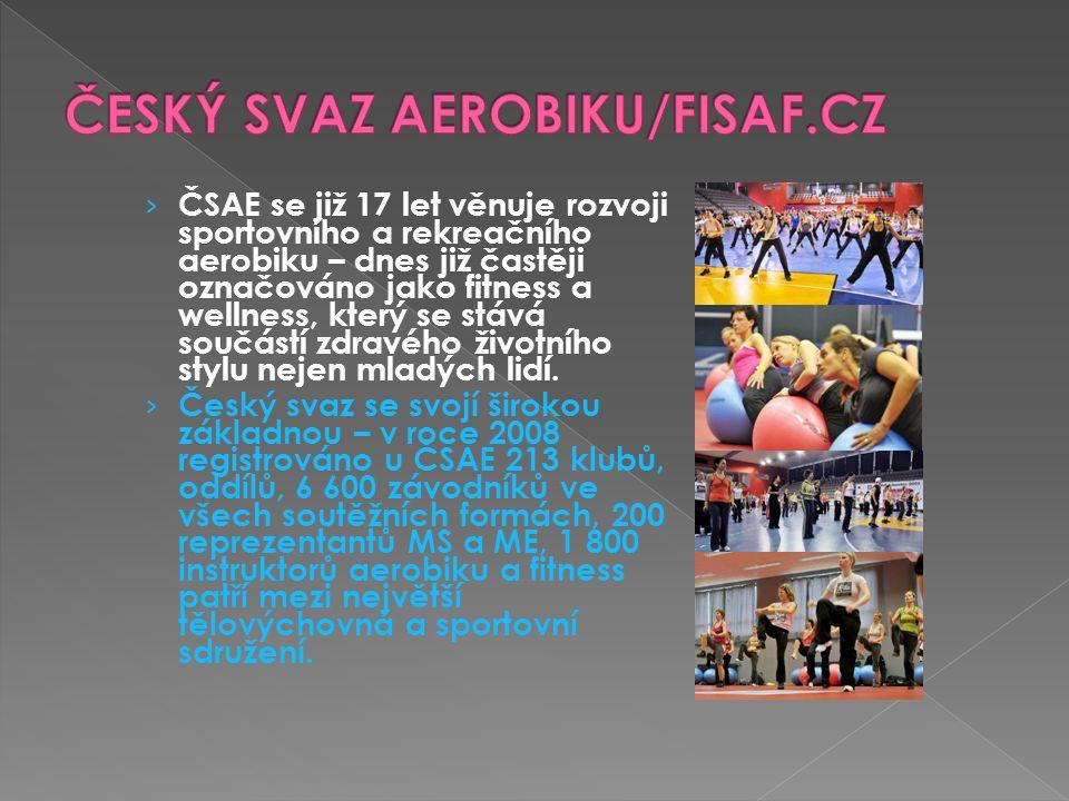 ČESKÝ SVAZ AEROBIKU/FISAF.CZ