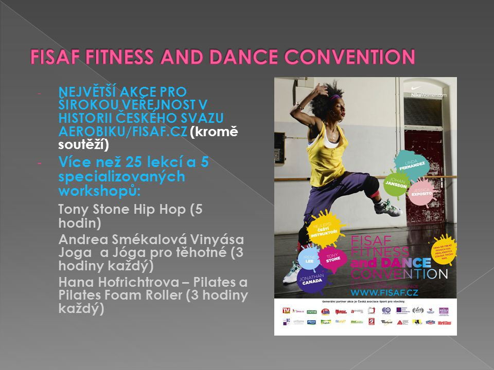 FISAF FITNESS AND DANCE CONVENTION