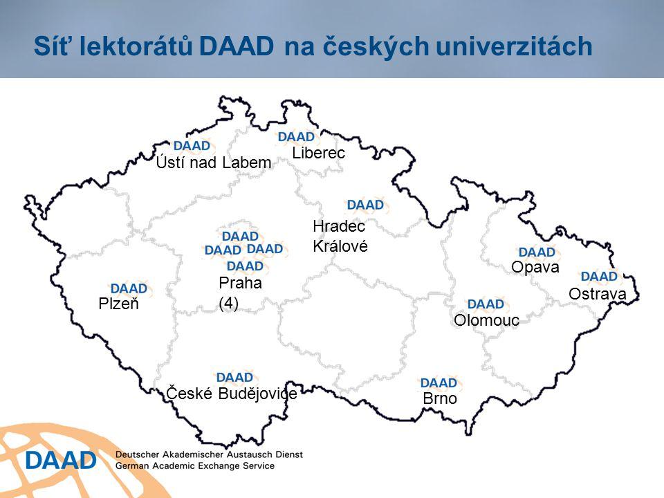 Síť lektorátů DAAD na českých univerzitách