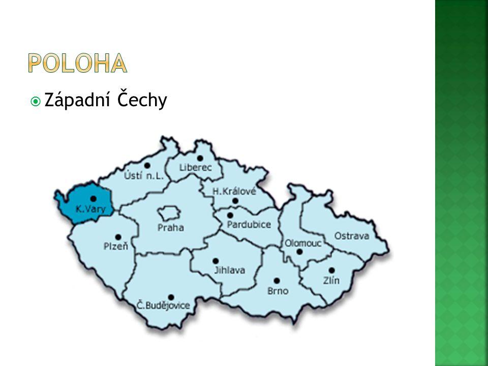poloha Západní Čechy