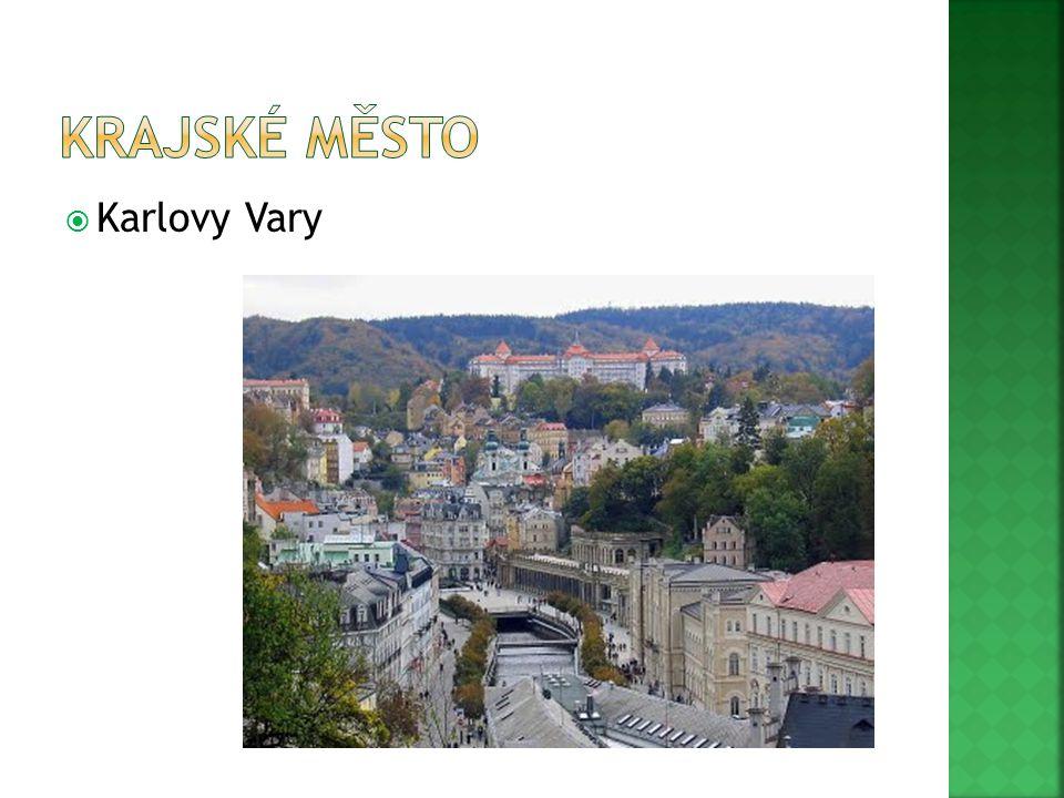 Krajské město Karlovy Vary