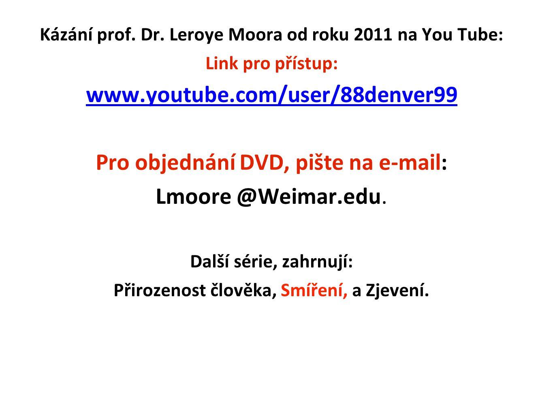 www.youtube.com/user/88denver99 Pro objednání DVD, pište na e-mail: