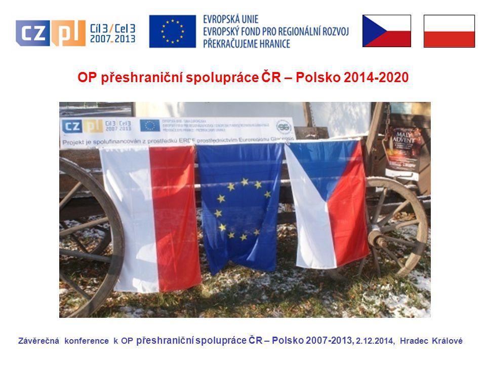 OP přeshraniční spolupráce ČR – Polsko 2014-2020