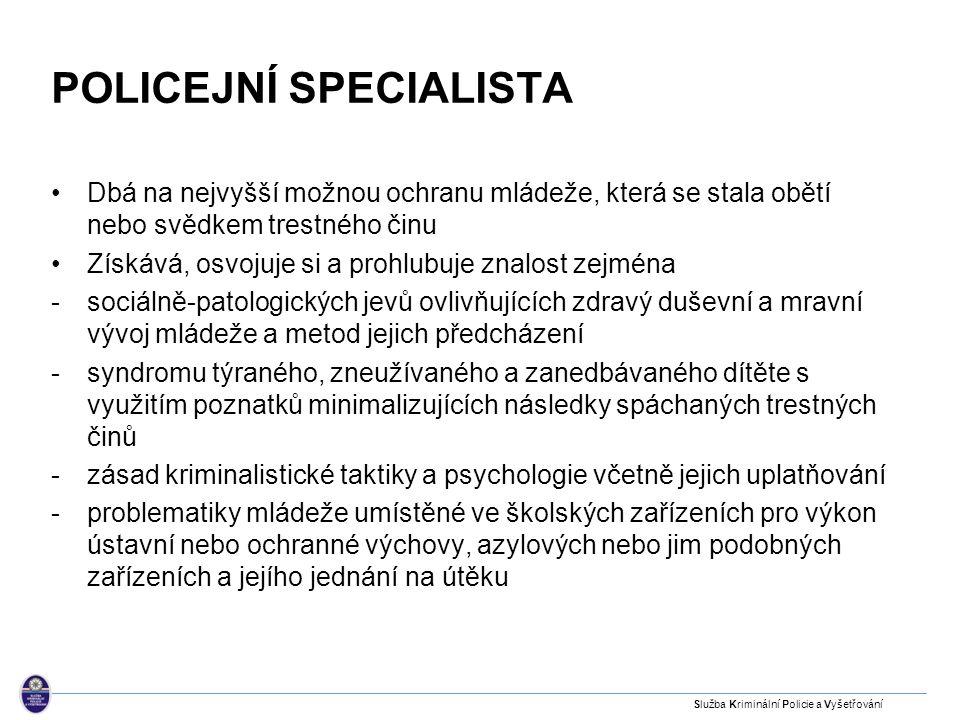 Policejní specialista