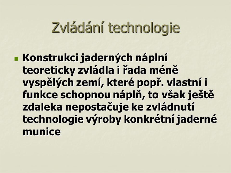 Zvládání technologie