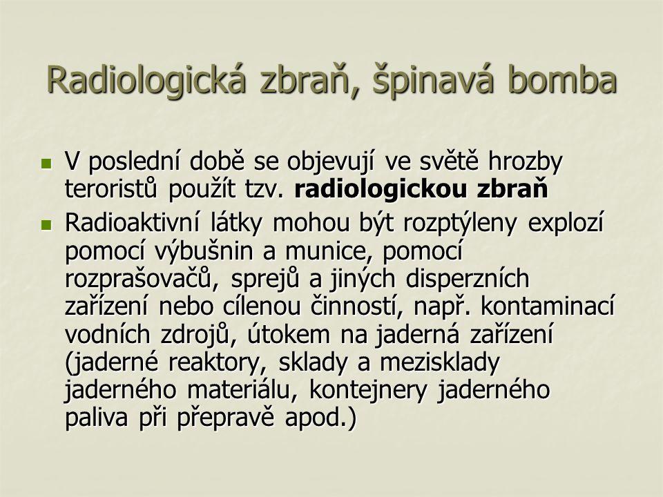 Radiologická zbraň, špinavá bomba
