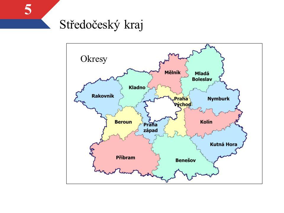 Středočeský kraj Okresy