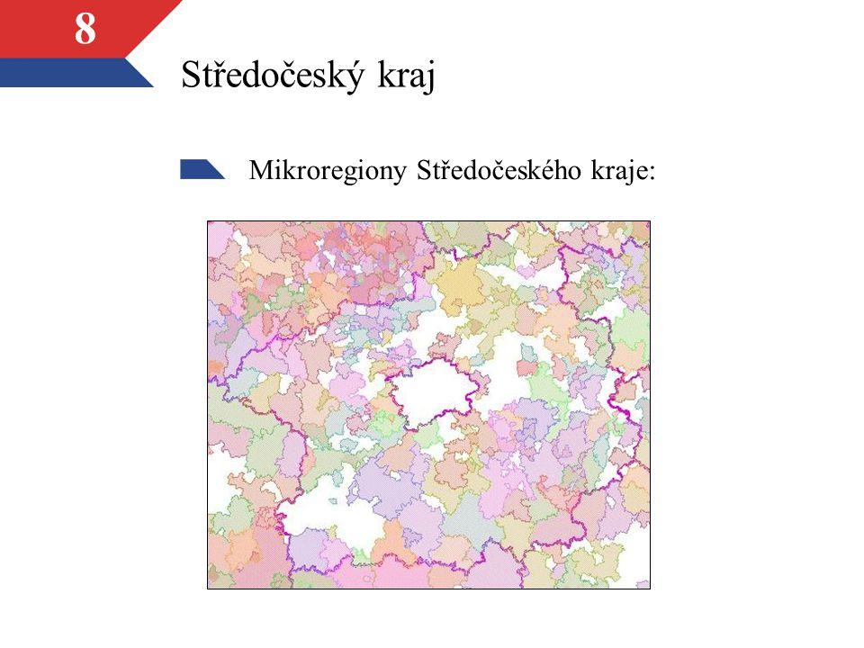 Středočeský kraj Mikroregiony Středočeského kraje: