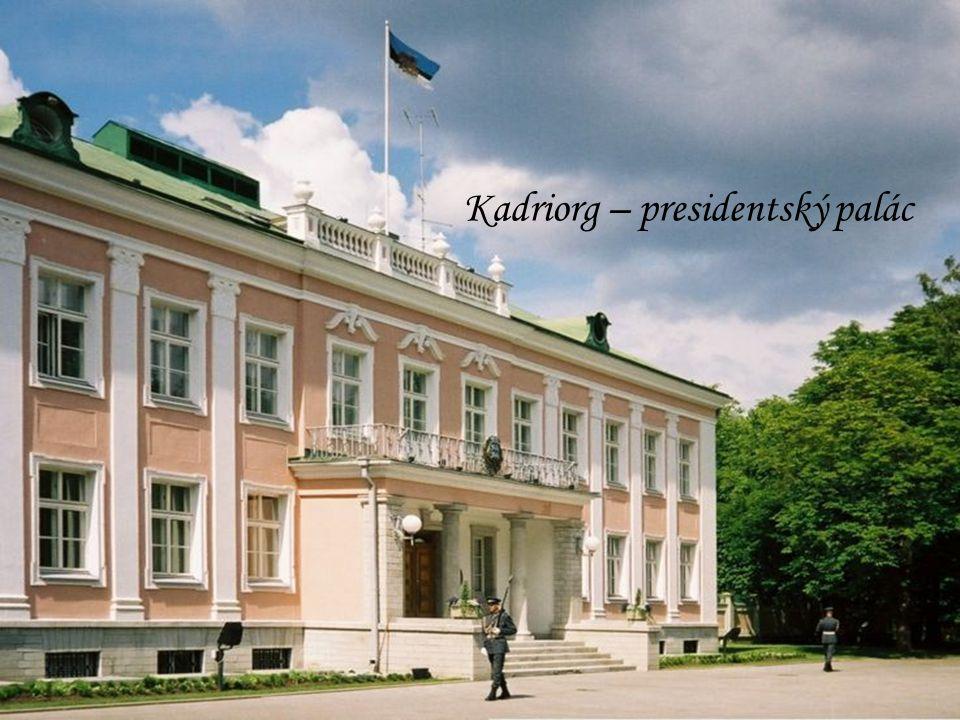 Kadriorg – presidentský palác