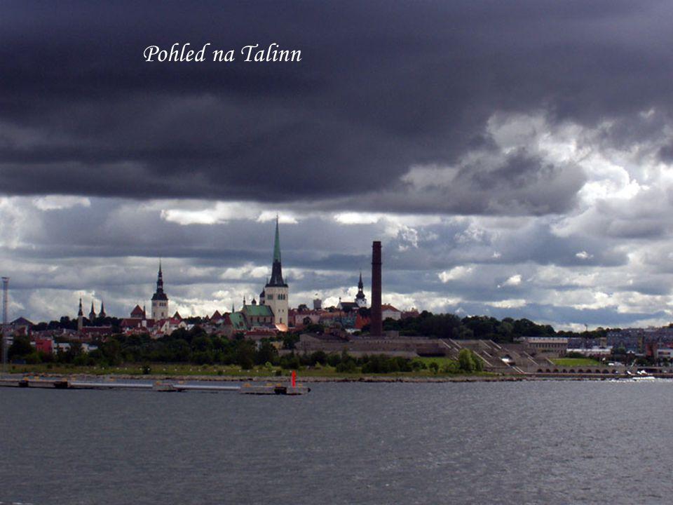 Pohled na Talinn