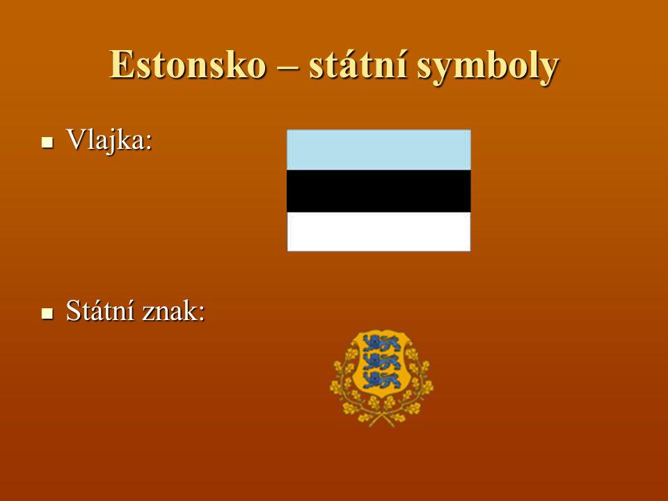 Estonsko – státní symboly