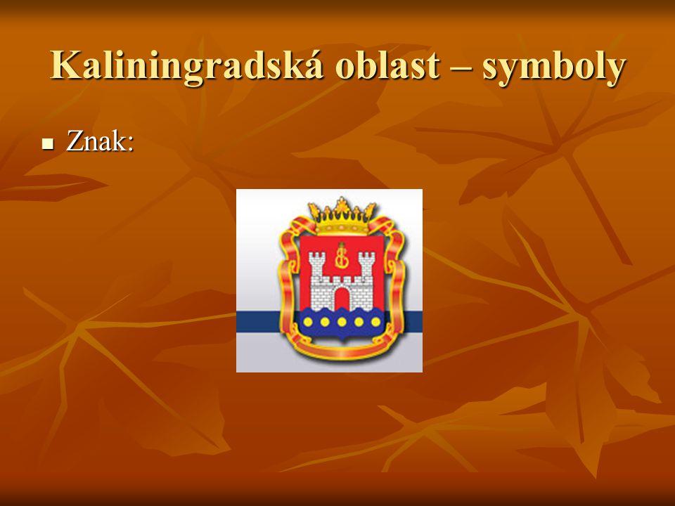 Kaliningradská oblast – symboly
