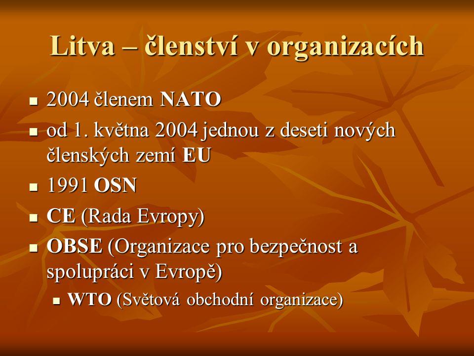Litva – členství v organizacích