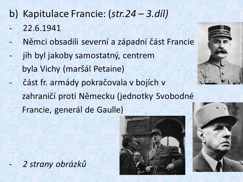 Kapitulace Francie: (str.24 – 3.díl)
