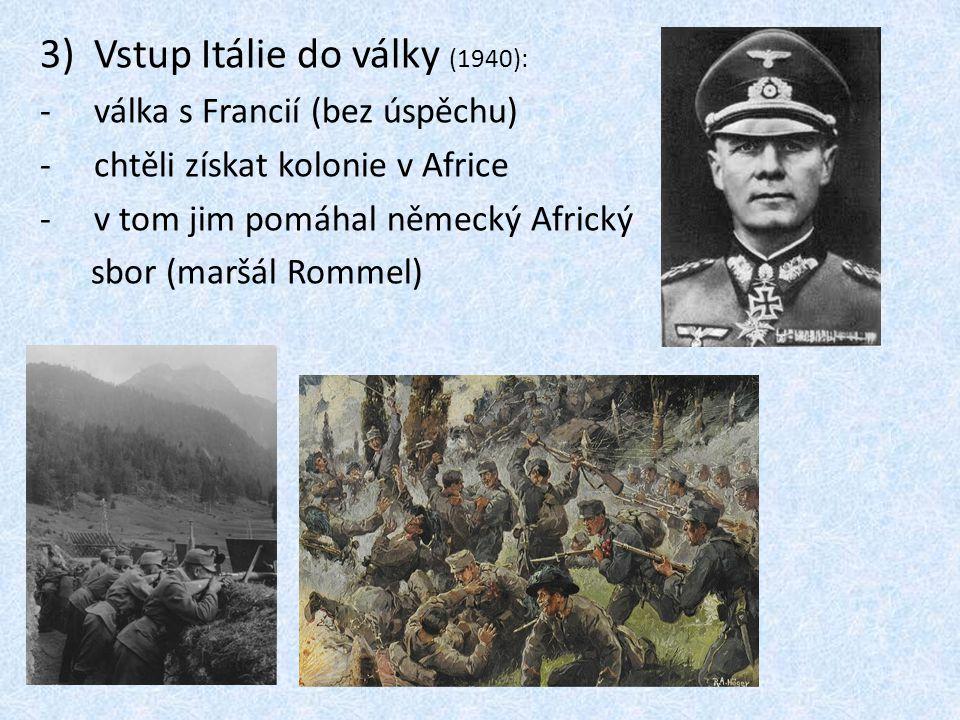 Vstup Itálie do války (1940):