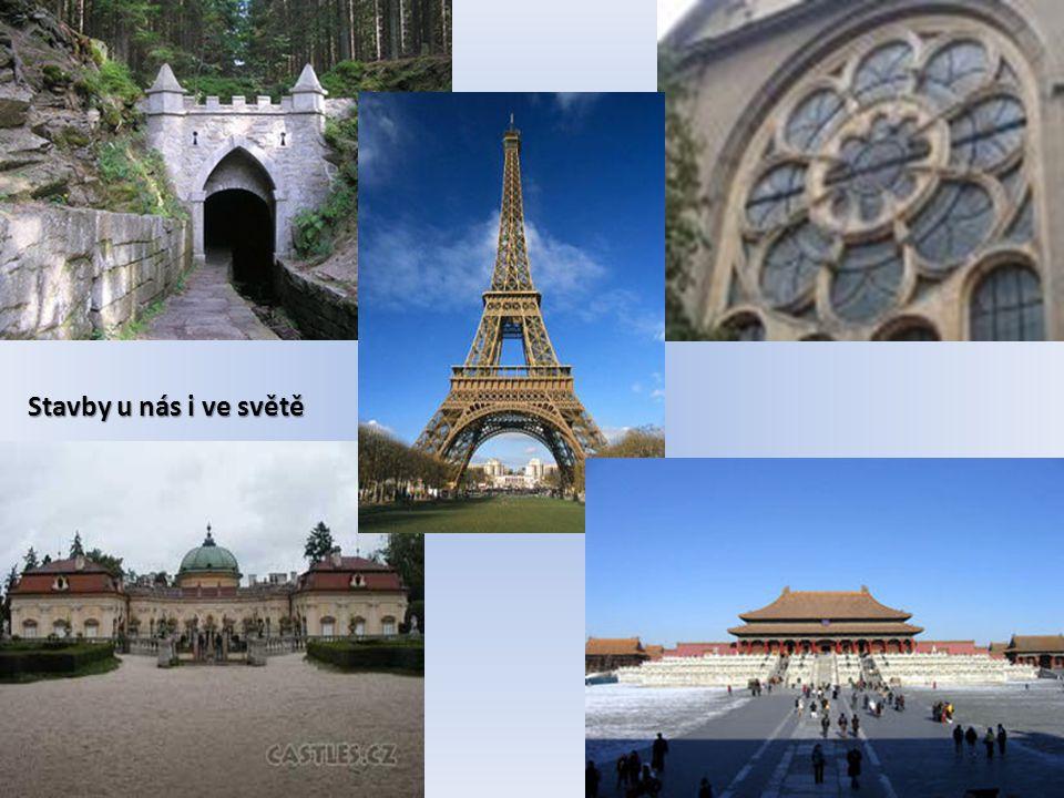 Stavby u nás i ve světě