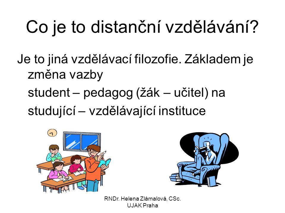 Co je to distanční vzdělávání