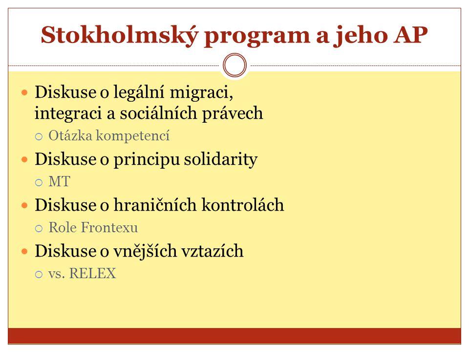 Stokholmský program a jeho AP