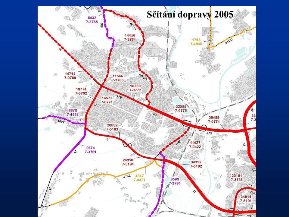 Sčítání dopravy 2005