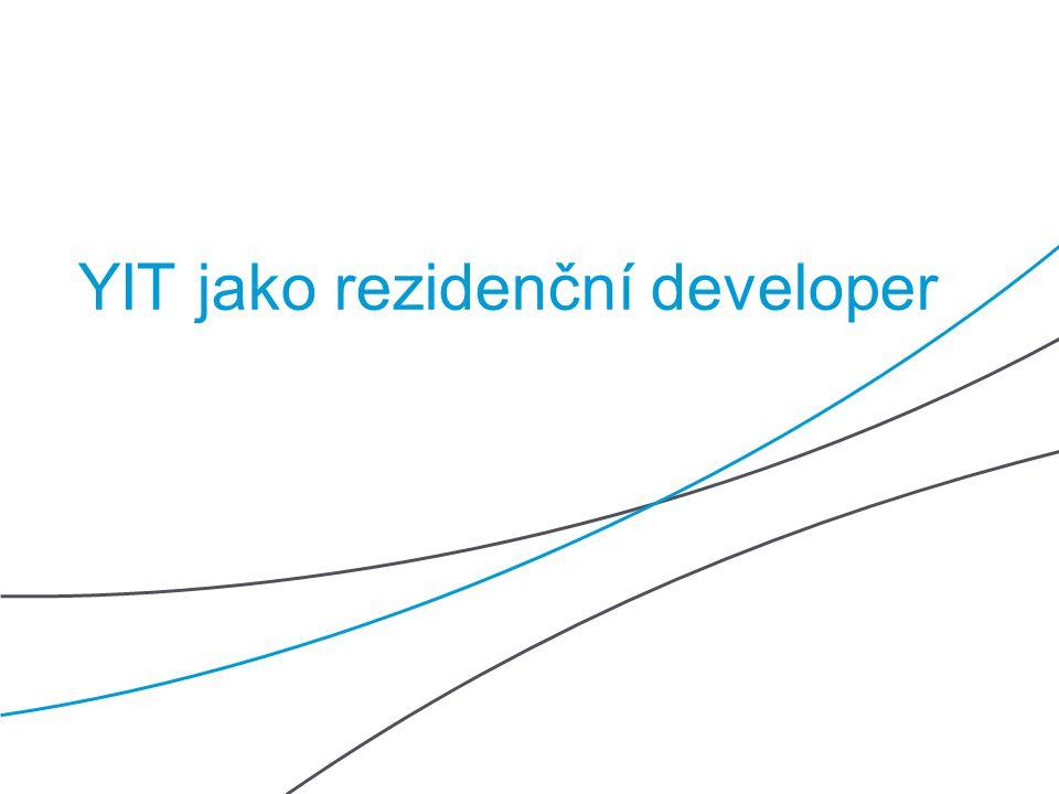 YIT jako rezidenční developer