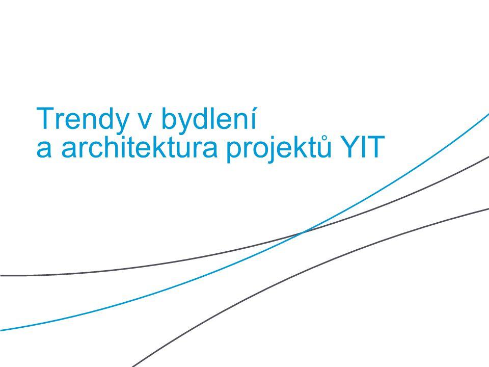 Trendy v bydlení a architektura projektů YIT