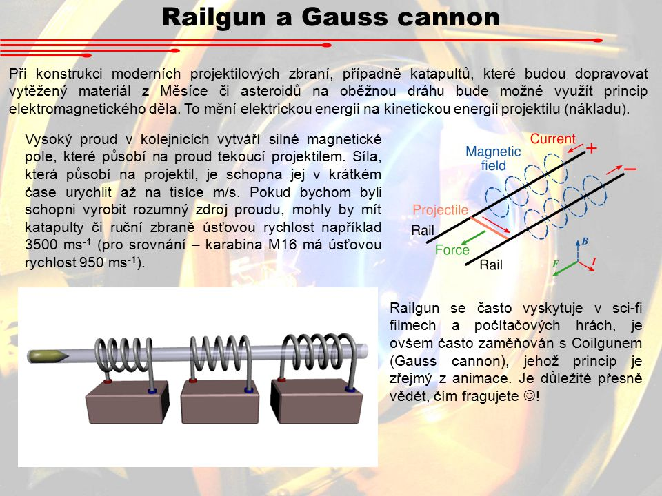 Railgun a Gauss cannon