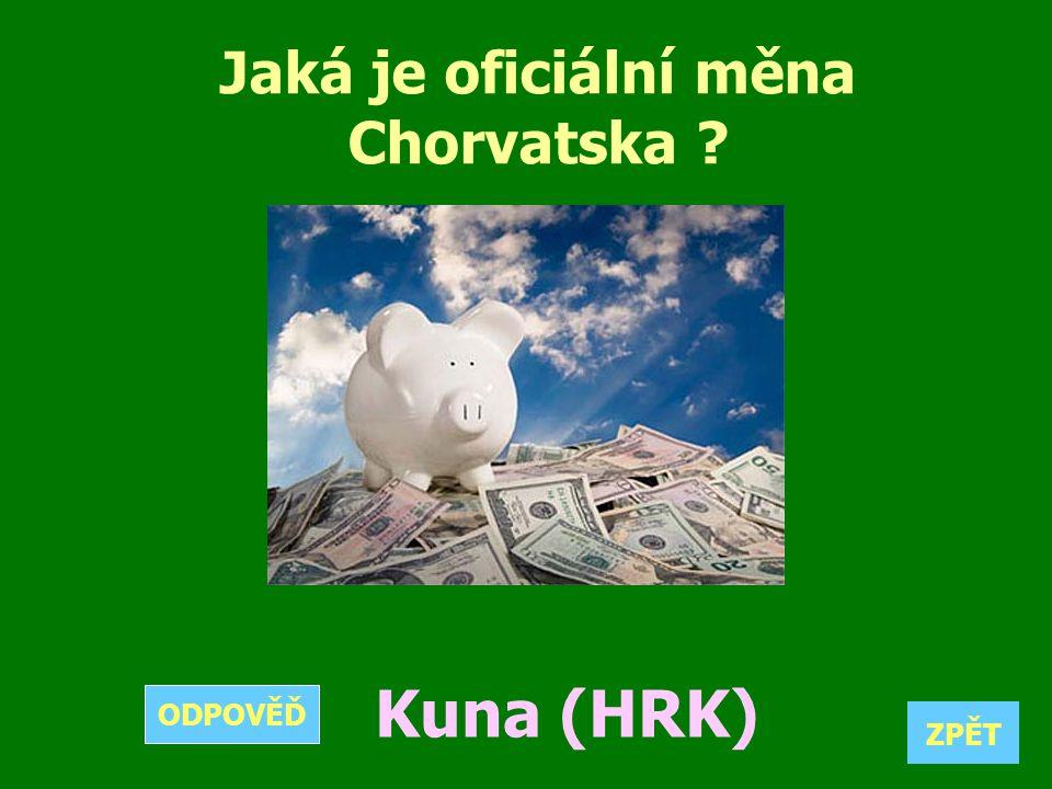 Jaká je oficiální měna Chorvatska