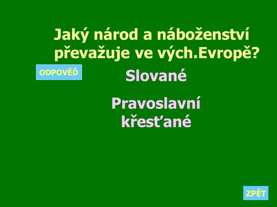 Slované Pravoslavní křesťané