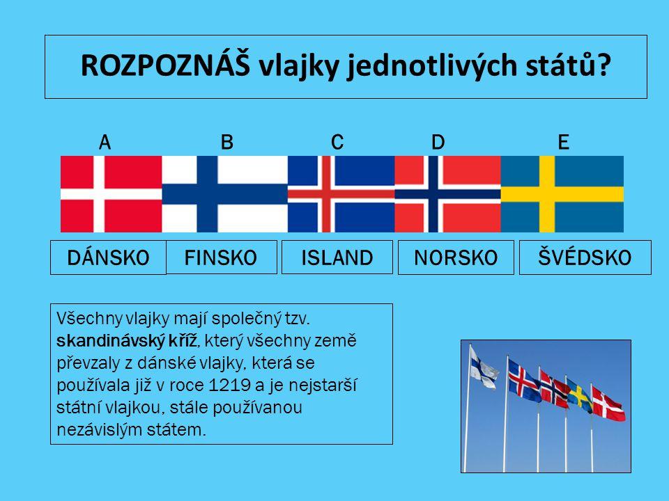 ROZPOZNÁŠ vlajky jednotlivých států