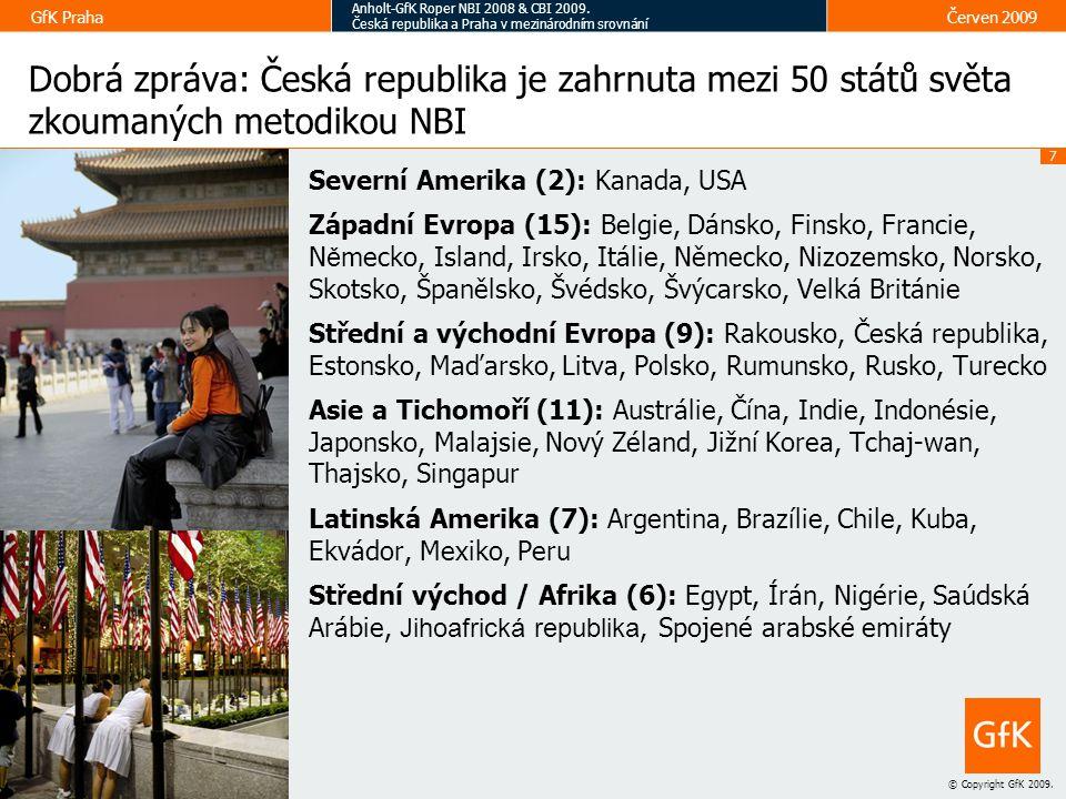 Dobrá zpráva: Česká republika je zahrnuta mezi 50 států světa zkoumaných metodikou NBI