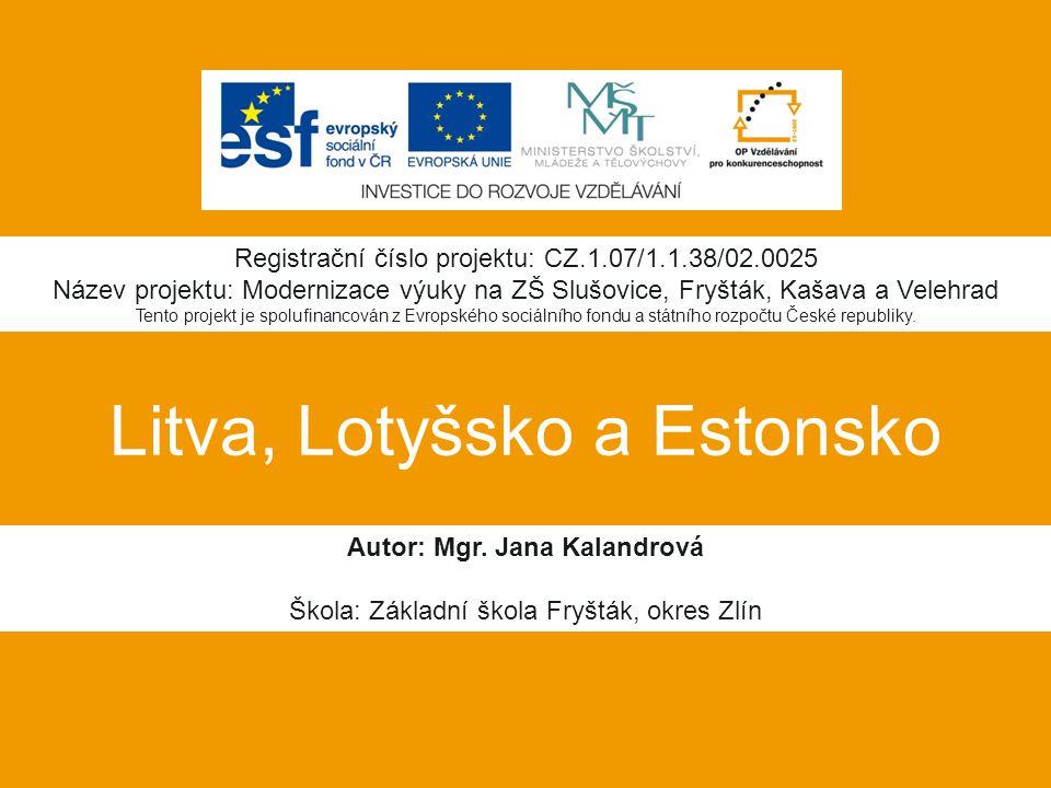 Litva, Lotyšsko a Estonsko