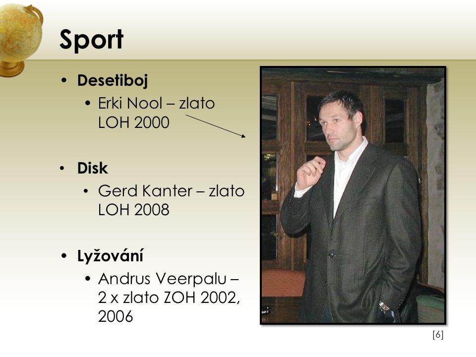 Sport Desetiboj Erki Nool – zlato LOH 2000 Disk