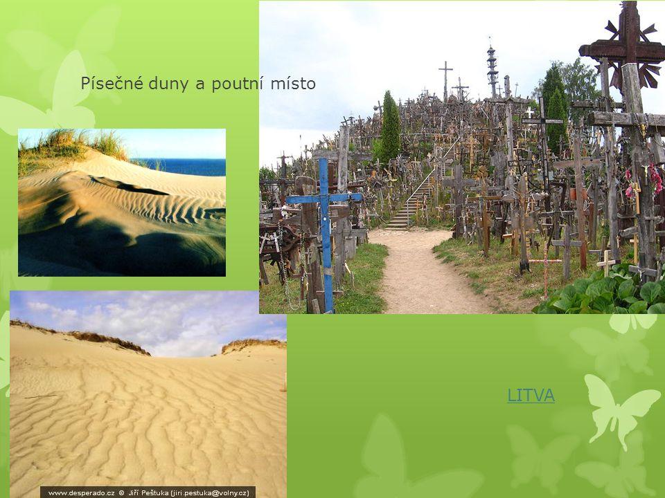 Písečné duny a poutní místo
