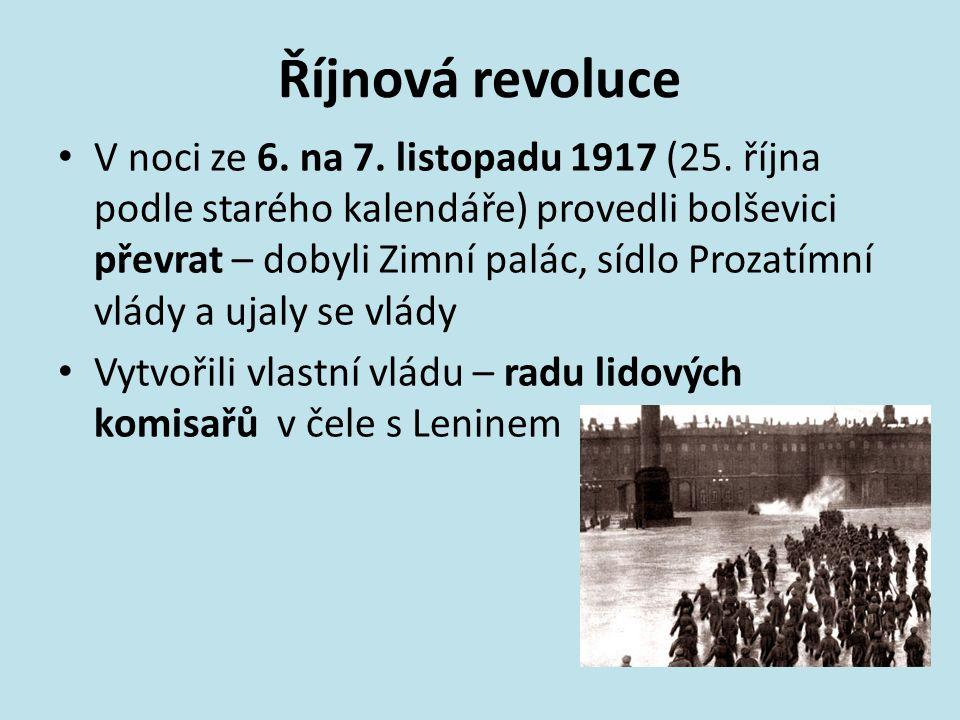 Říjnová revoluce