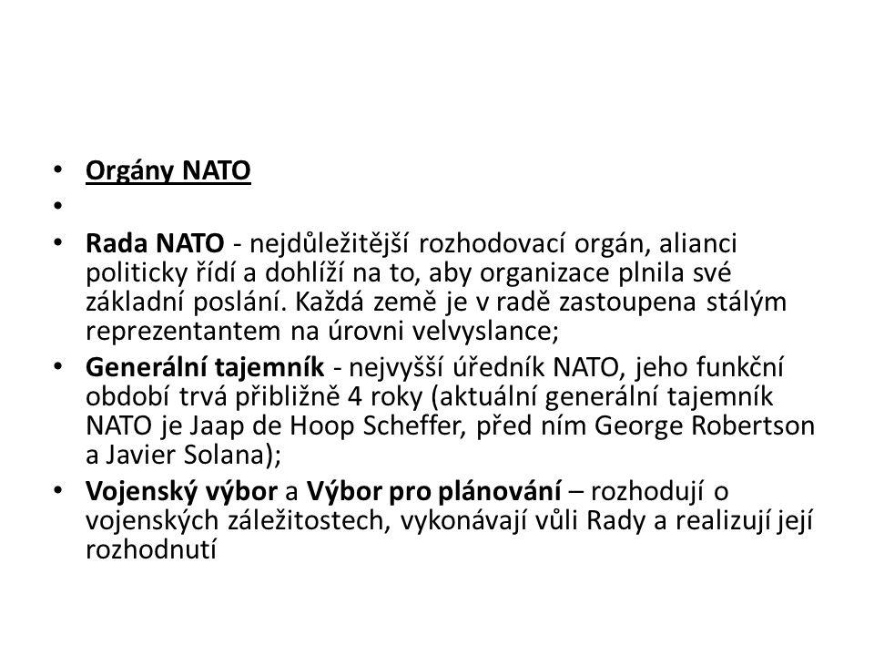 Orgány NATO