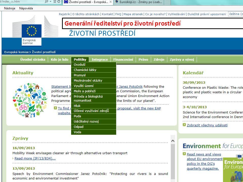 Generální ředitelství pro životní prostředí